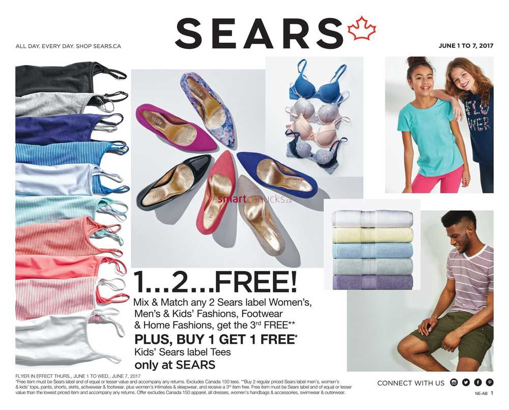 Uncategorized Sears Appliances Kitchener sears canada flyers flyer june 1 to 7