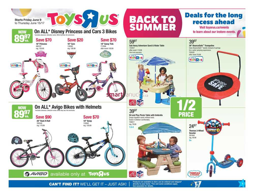 R Flyers Toys R Us Canada Flyer...