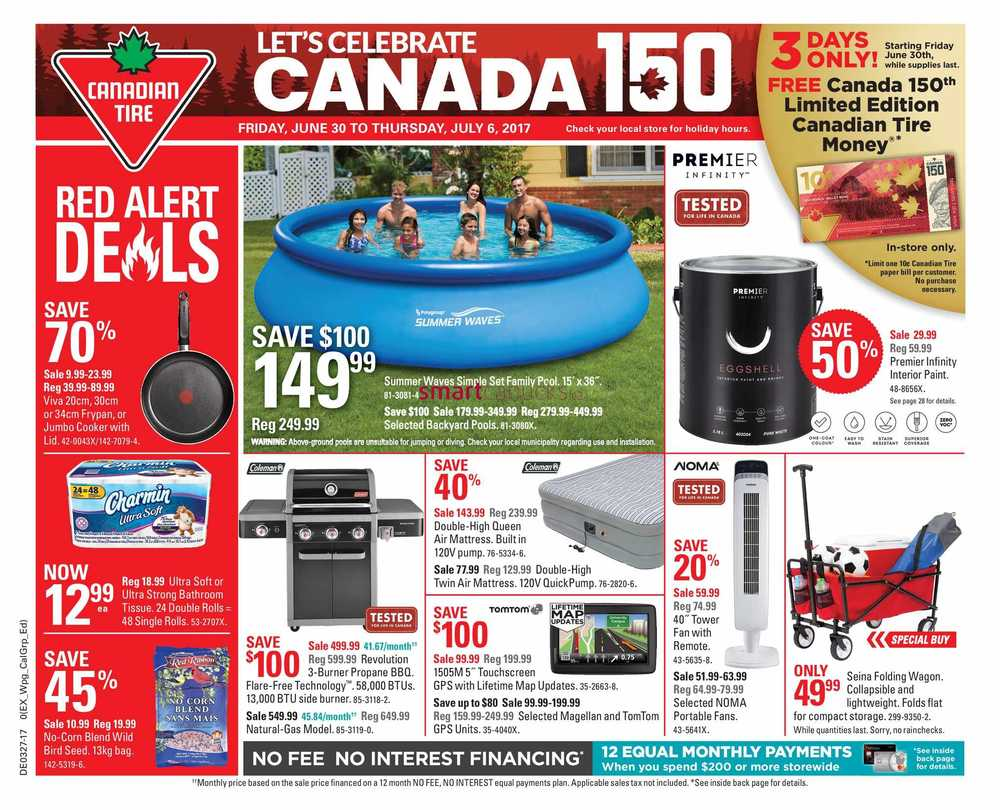 canadian tire flyer canada