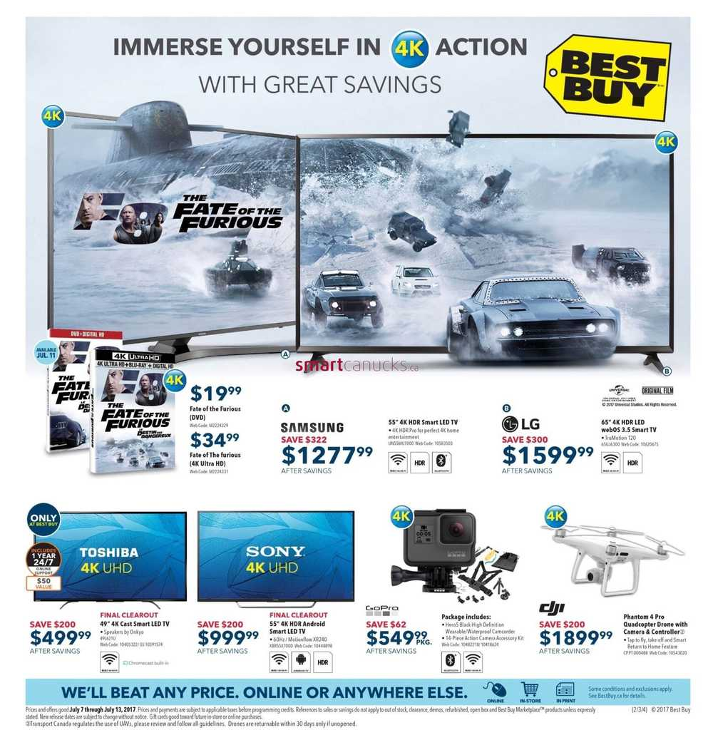 Best buy flyer july 7 to 13