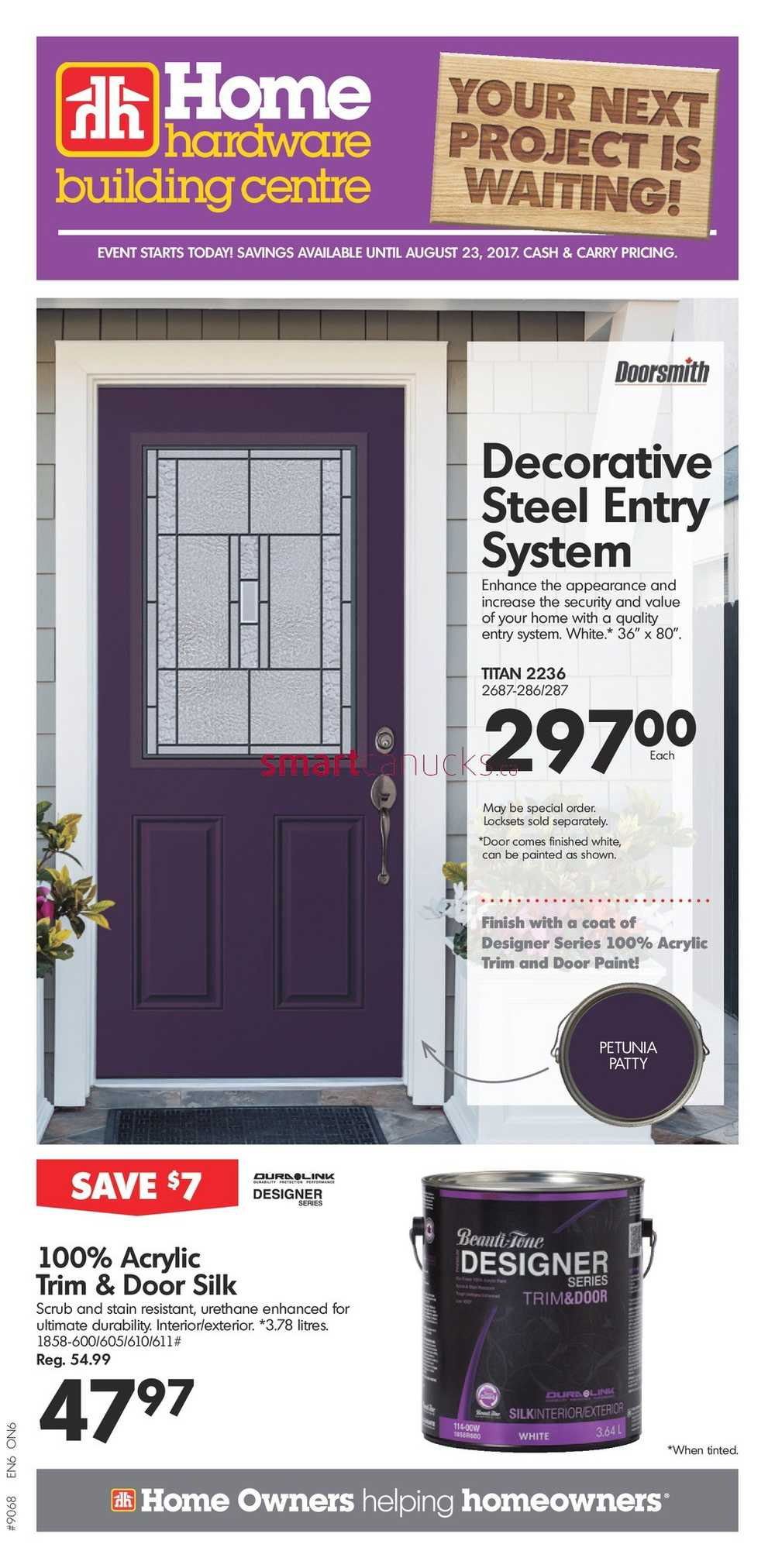 Home Hardware Building Centre (ON) Flyer August 16 To 23