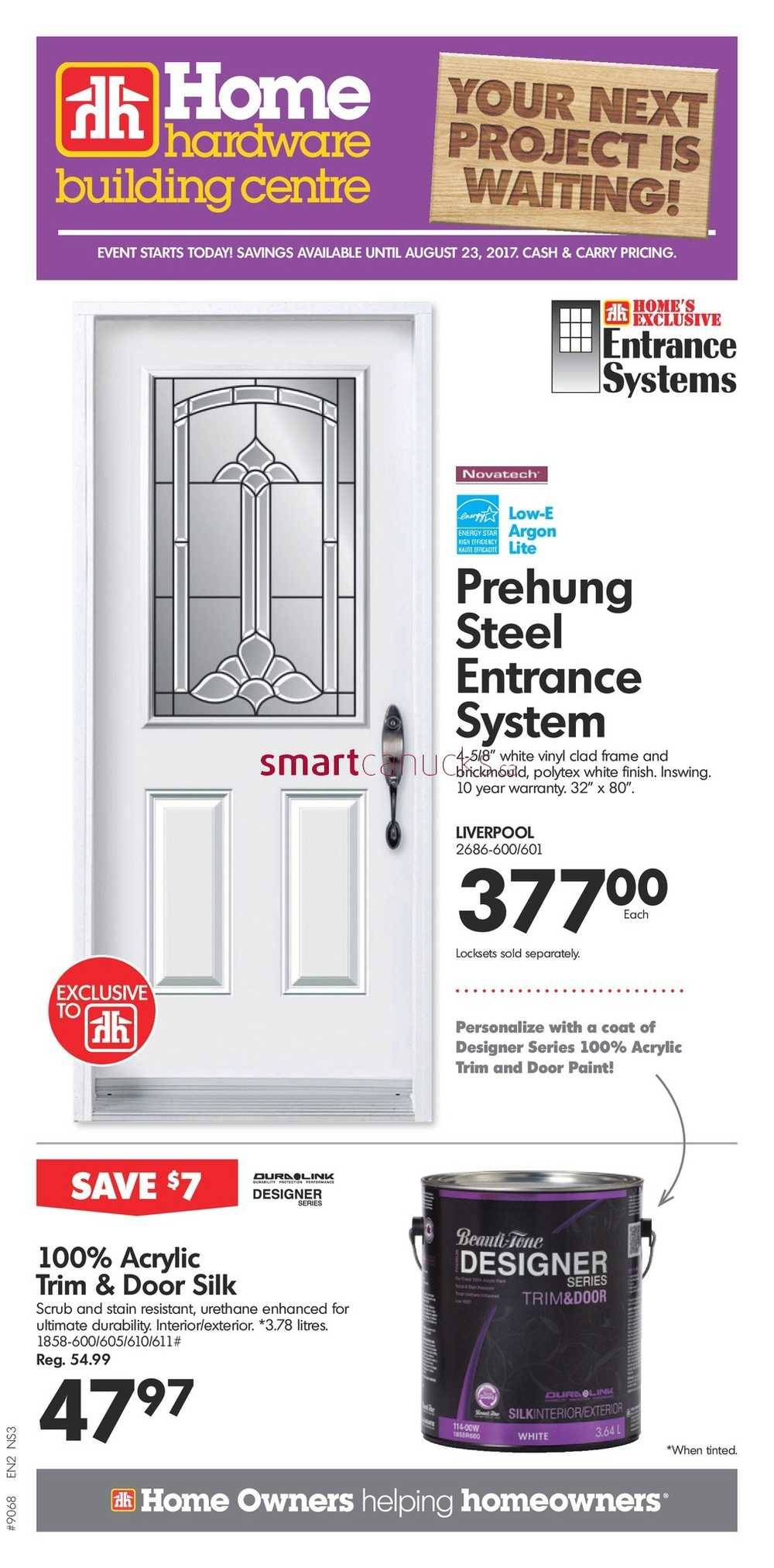Home Hardware Building Centre (Atlantic) Flyer August 16 To 23