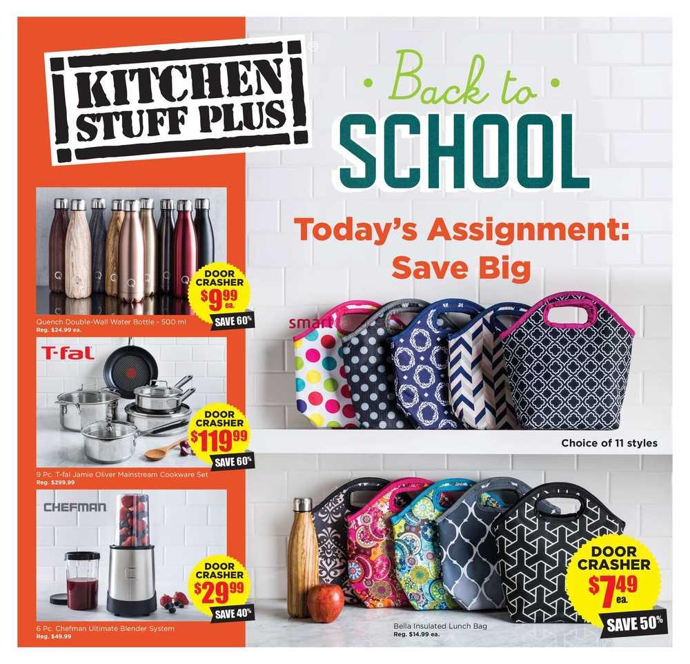kitchen stuff plus flyer august 17 to 27 - Kitchen Stuff Plus