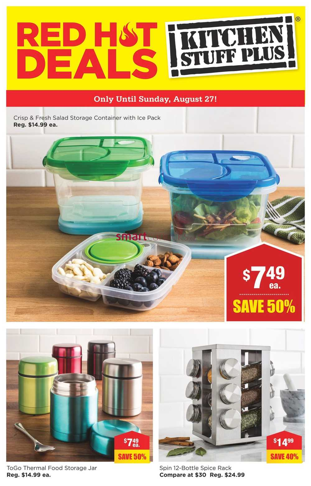 Kitchen Stuff Plus Red Hot Deals August 21 To 27