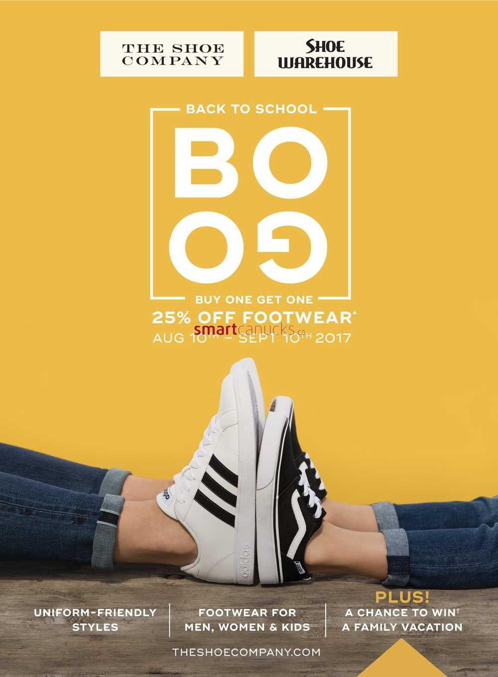 the shoe company flyer august 24 to september 10