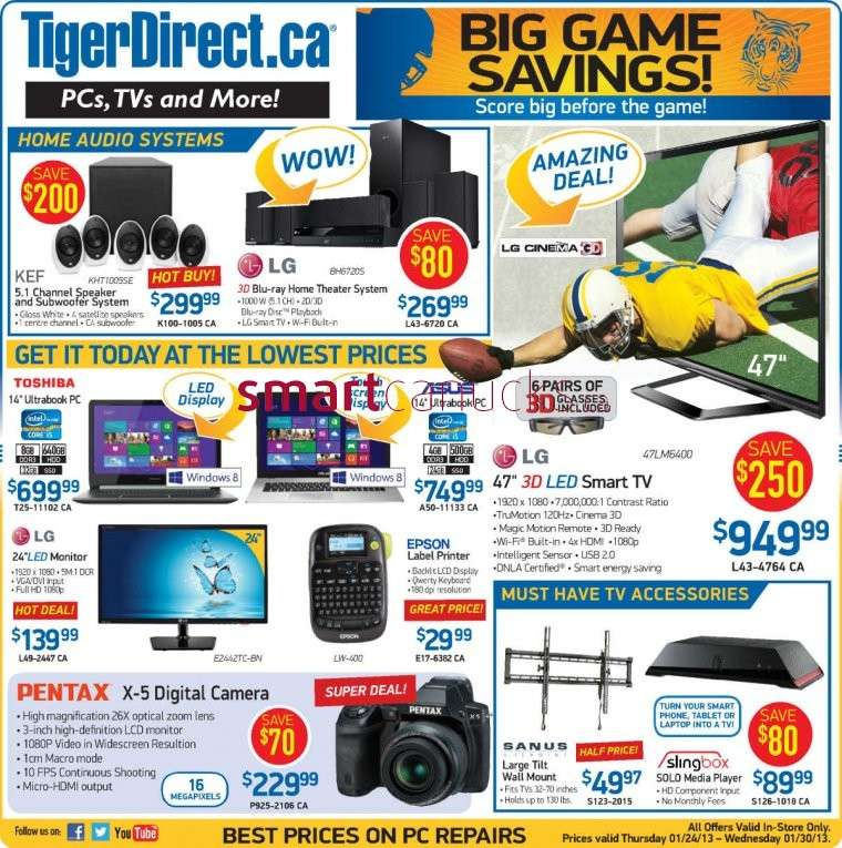 Walmart Weekly Flyer November 15 - 21, Black Friday is currently available – Find the latest weekly flyer for Walmart. Also, keep your challenge with coupons and great deals from Walmart Canada Store. Don't miss the Walmart Flyer Deals and household & beauty sales & offers from the current flyer and Circulaire. See all the weekly flyer and the Walmart deals in one place.