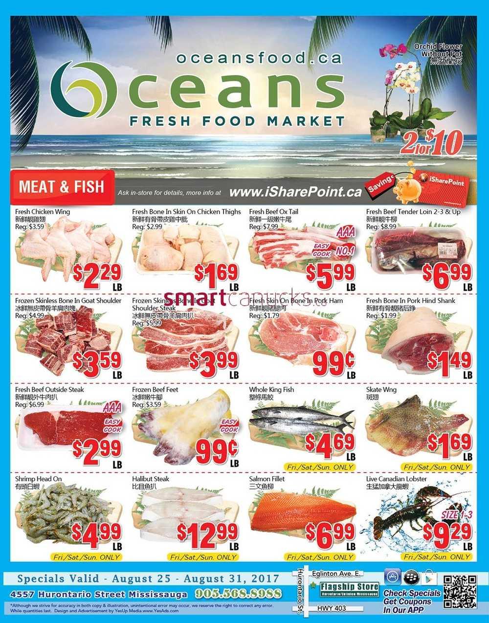 Oceans Fresh Food Market