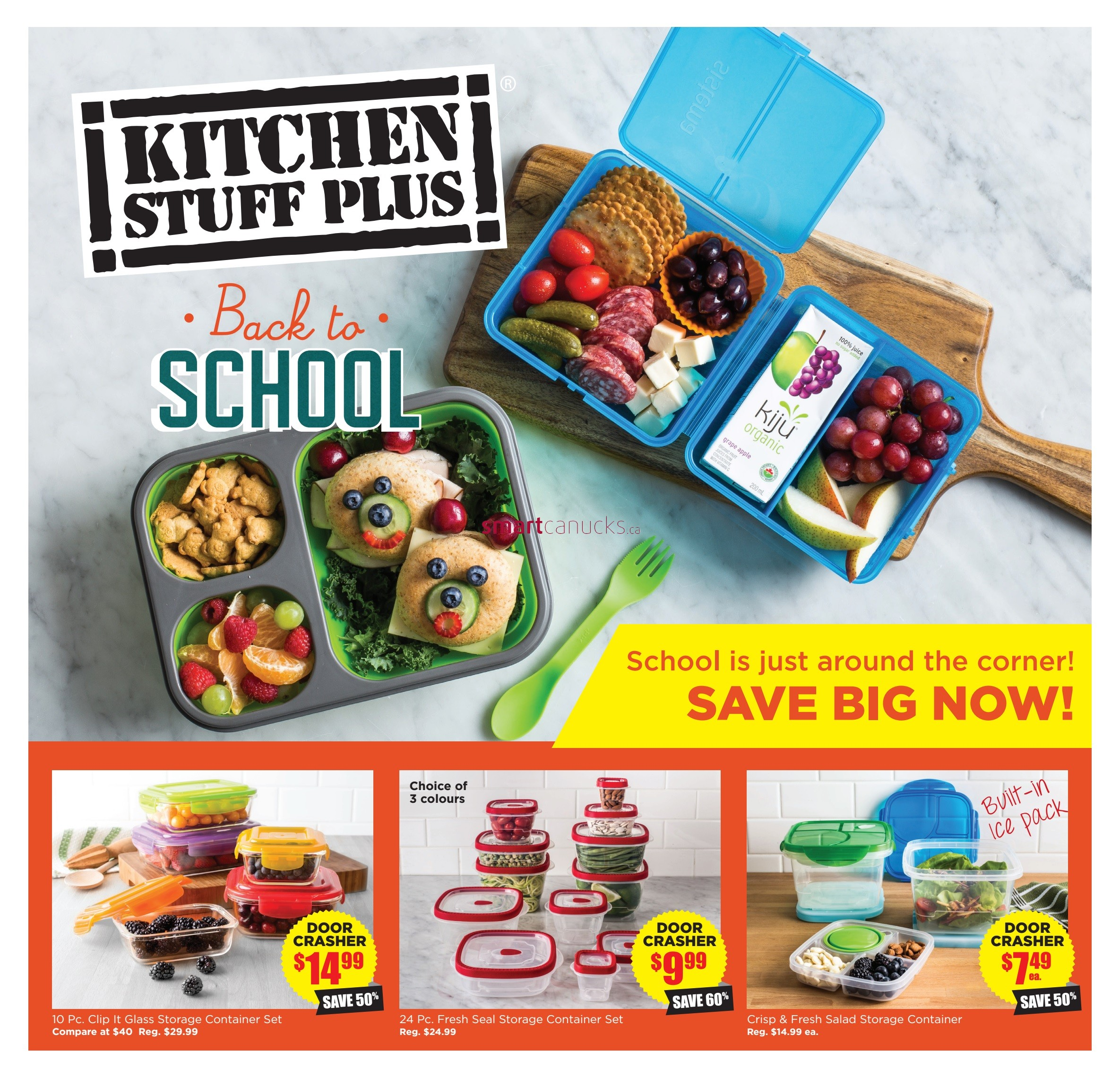 kitchen stuff plus flyer august 31 to september 10