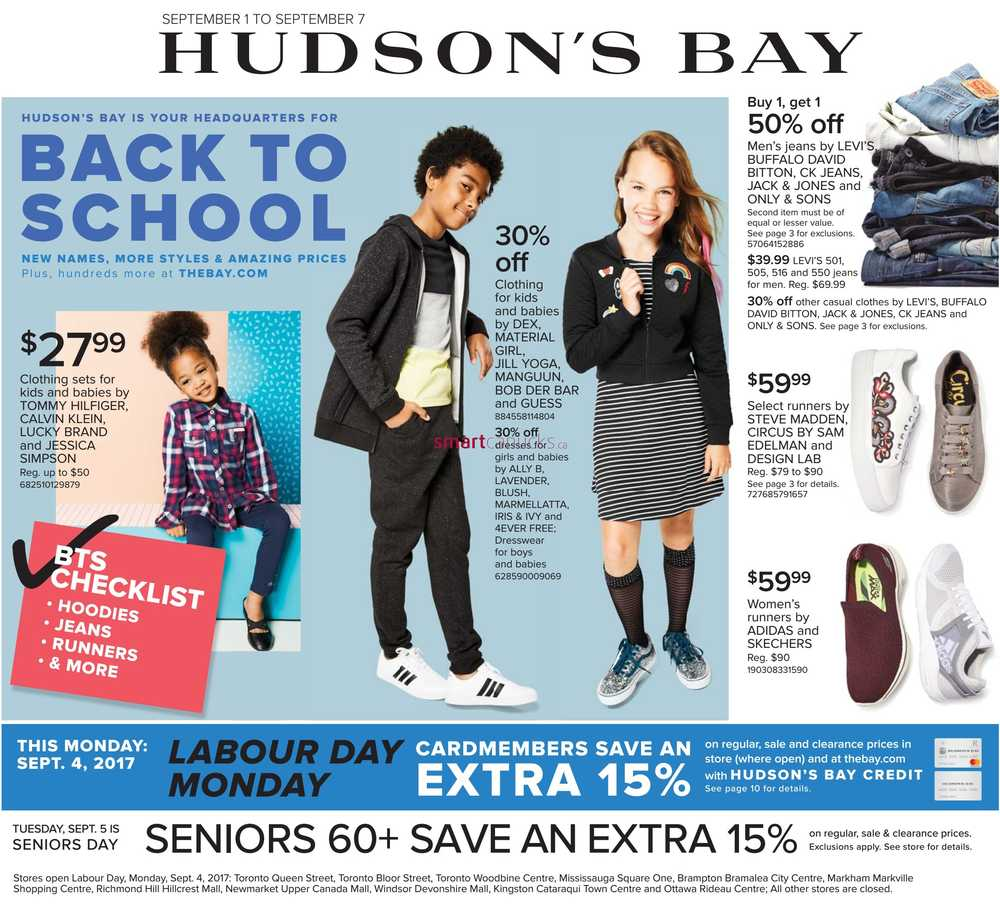 28f9916ff Hudson s Bay Flyer September 1 to 7.