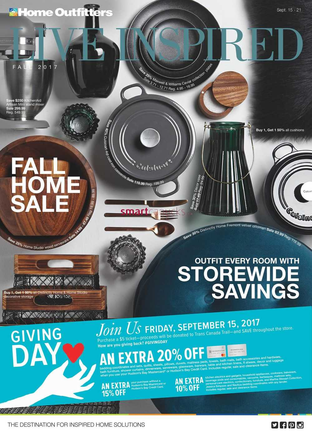 Home Outfitters Canada Flyers