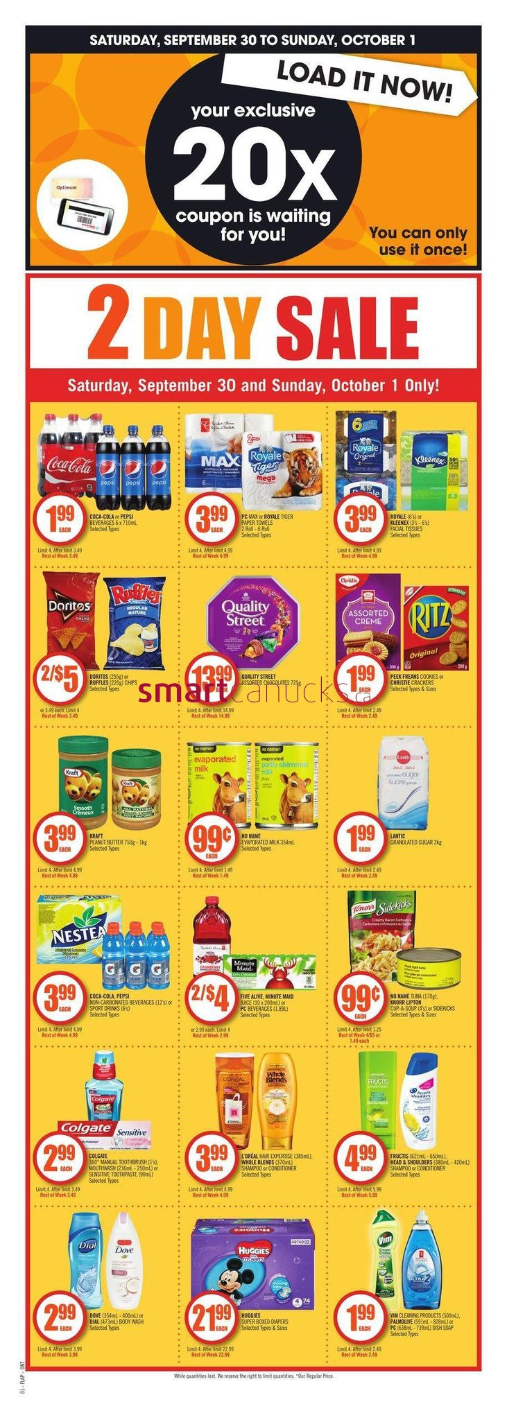 Shoppers Drug Mart (ON) Flyer September 30 to October 5