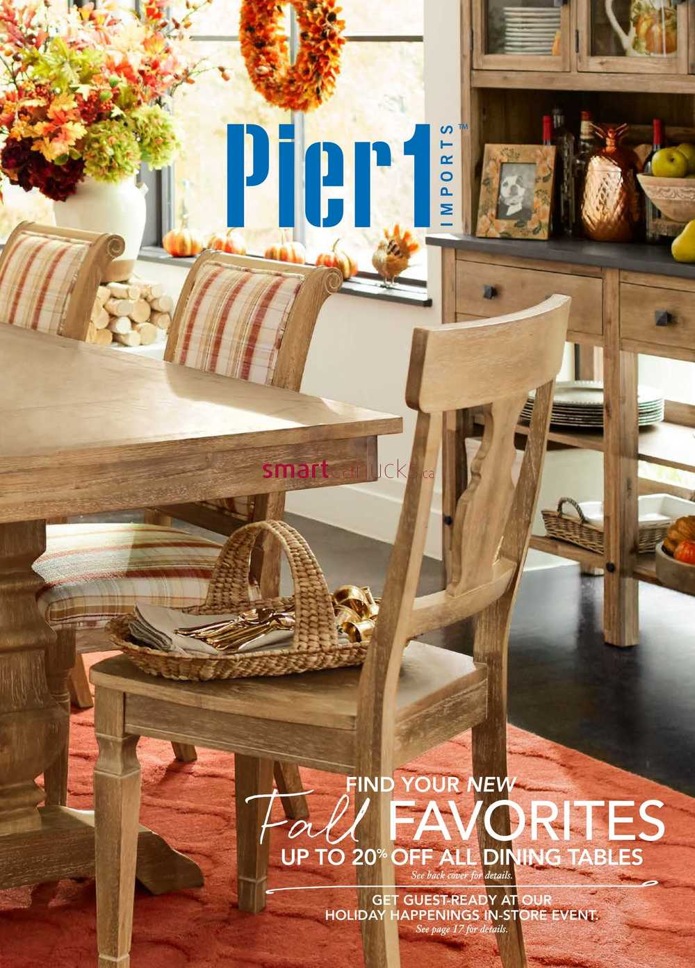 Pier 1 Imports Flyer Jan 2 To 27 S. Pier One Imports Canada Flyer   Best Import 2017