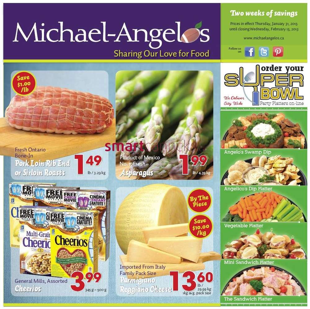 Michael angelo coupons 2018