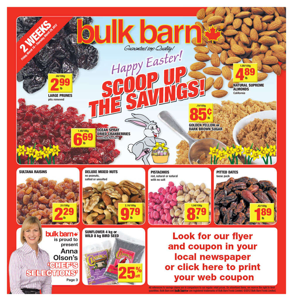 bulk barn flyer mar 16 to 29