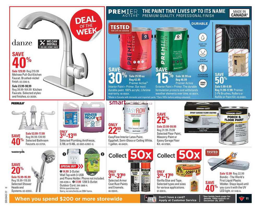 Canadian Tire (ON) Flyer October 13 to 19