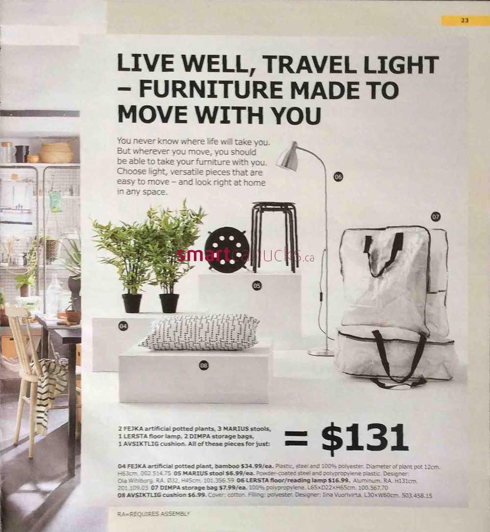ikea lighting catalogue. IKEA Canada 2018 Catalogue \u0026 Flyer. Ikea Lighting