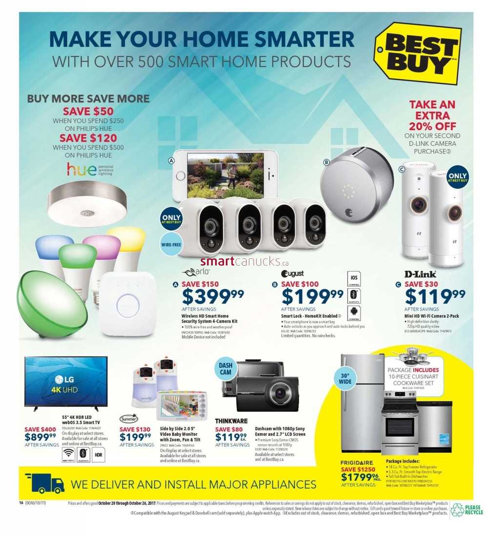 October | 2017 | Best Buy Flyer