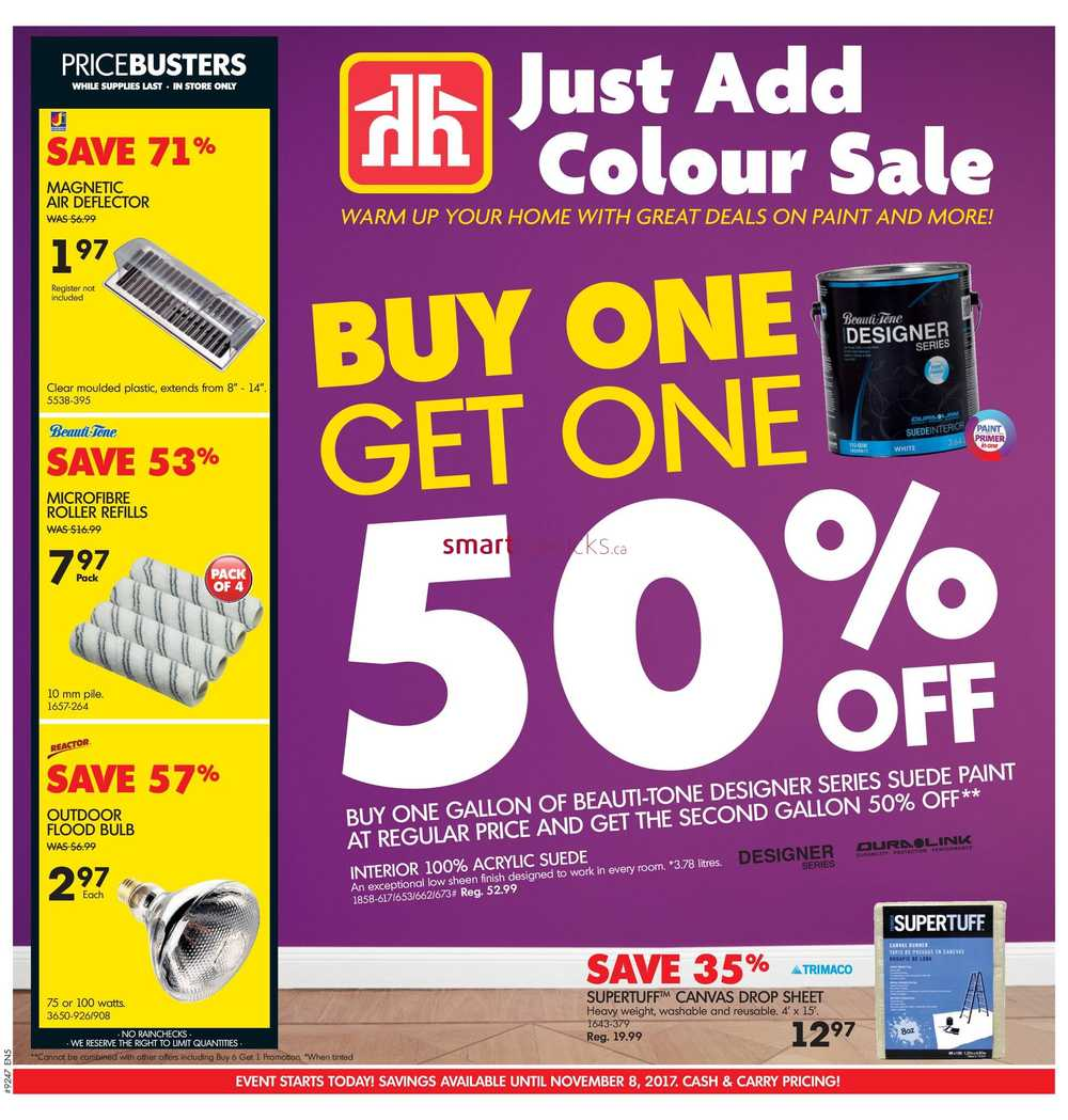 Home hardware bc flyer november 1 to 8 geenschuldenfo Images