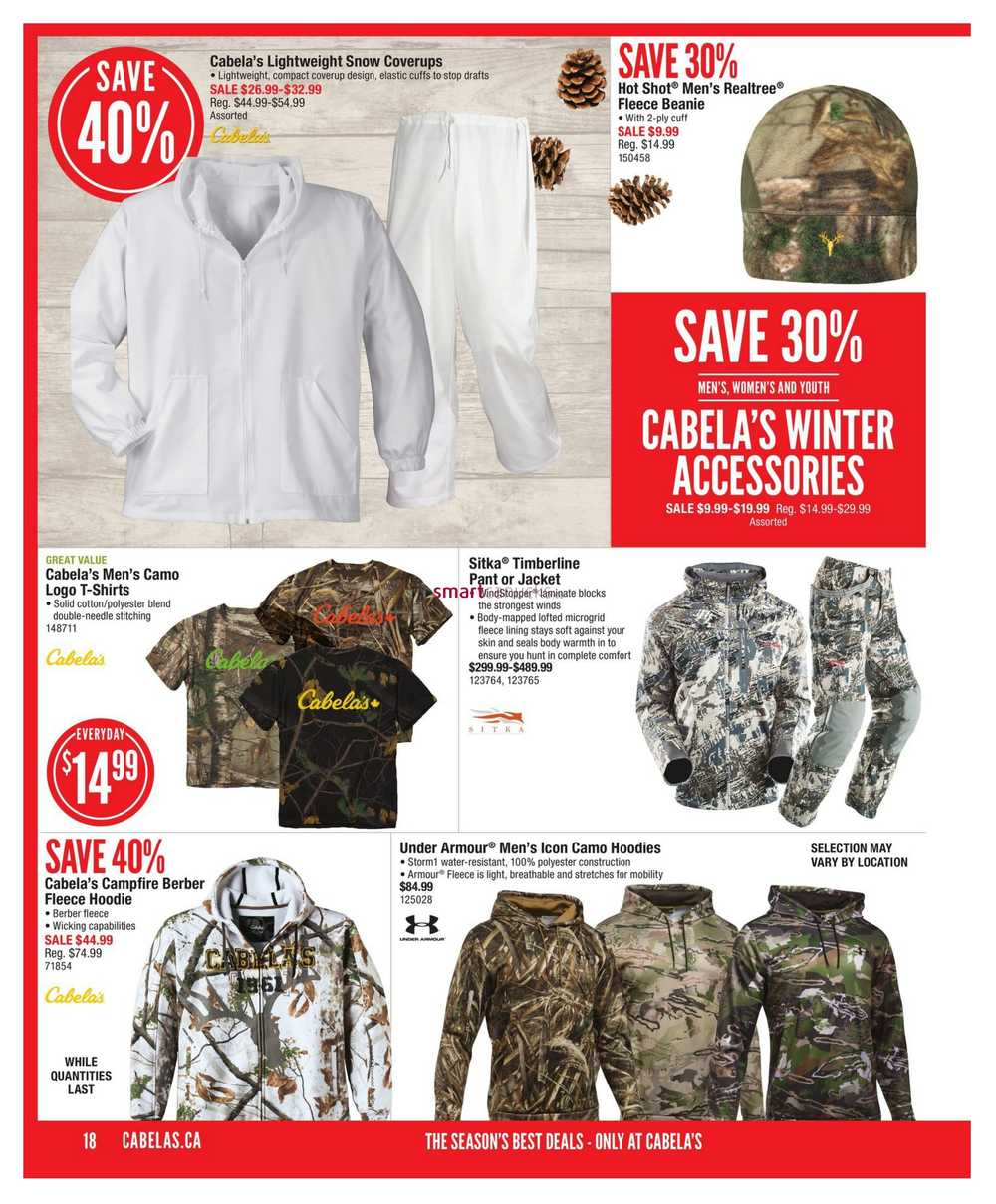 90d1663517309 Cabela's Holiday Gift Guide November 2 to 29