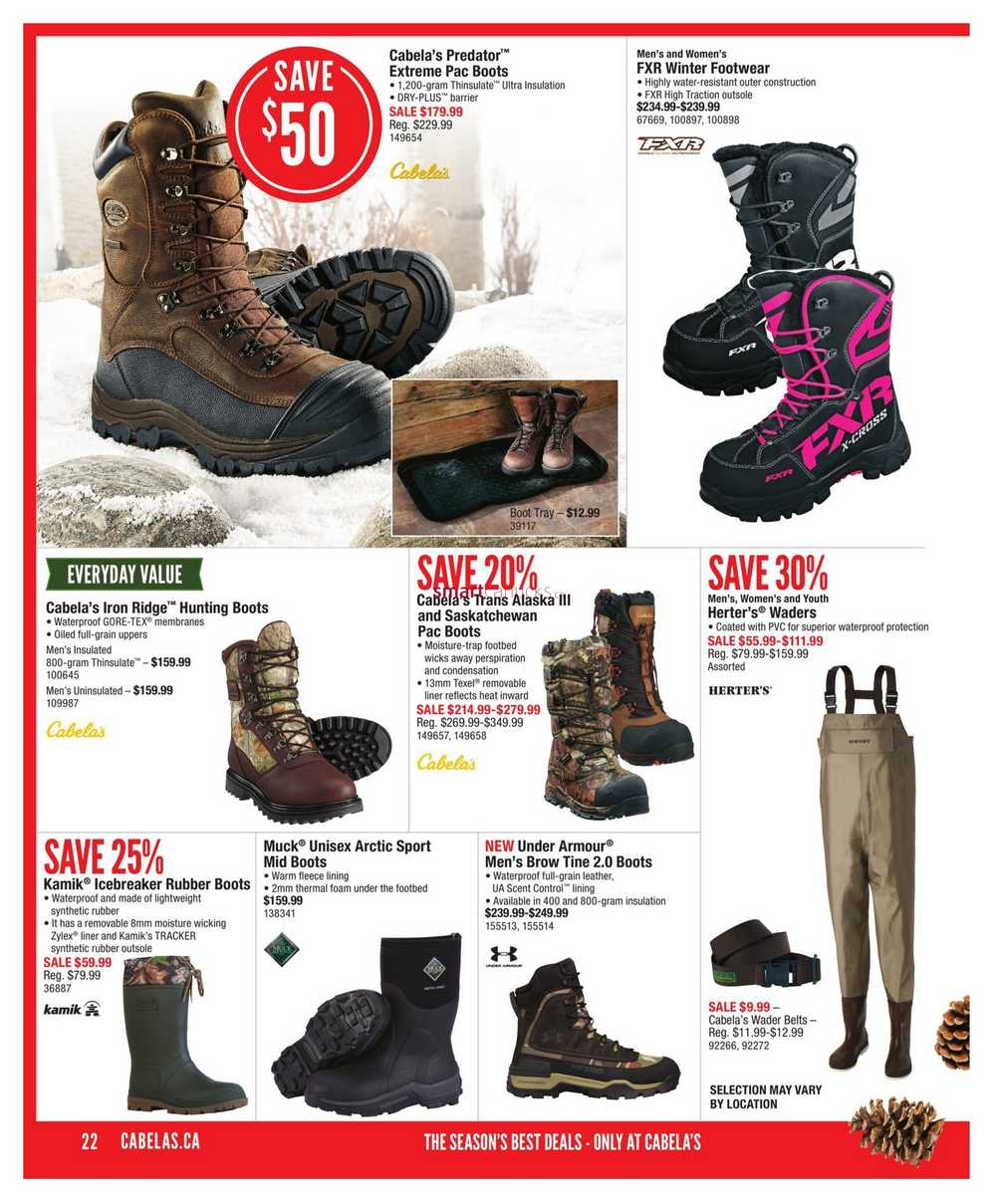 ec76c83ca4405 Cabela's Holiday Gift Guide November 2 to 29. Full Size · Book · All ·  Thumbnail · ‹ Previous · View Single · ‹