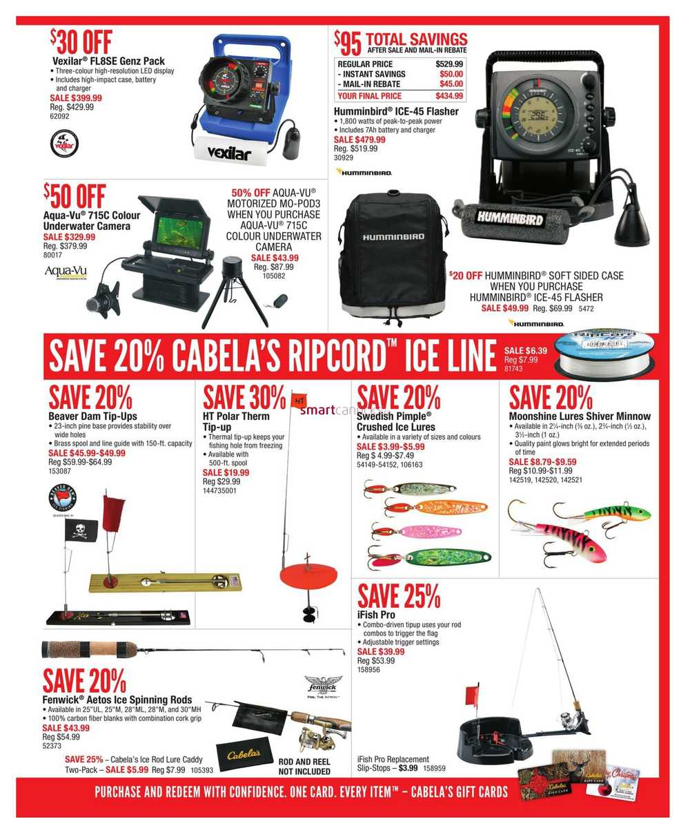 75ca31ed2d204 Cabela's Holiday Gift Guide November 2 to 29.