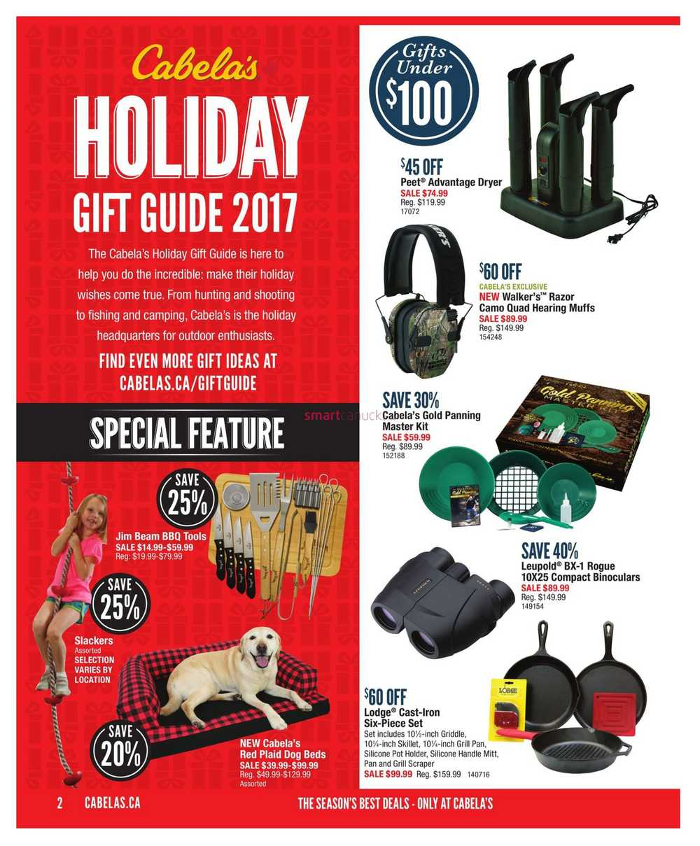 571c12579081f Cabela's Holiday Gift Guide November 2 to 29. Full Size · Book · All ·  Thumbnail · Next › · View Single