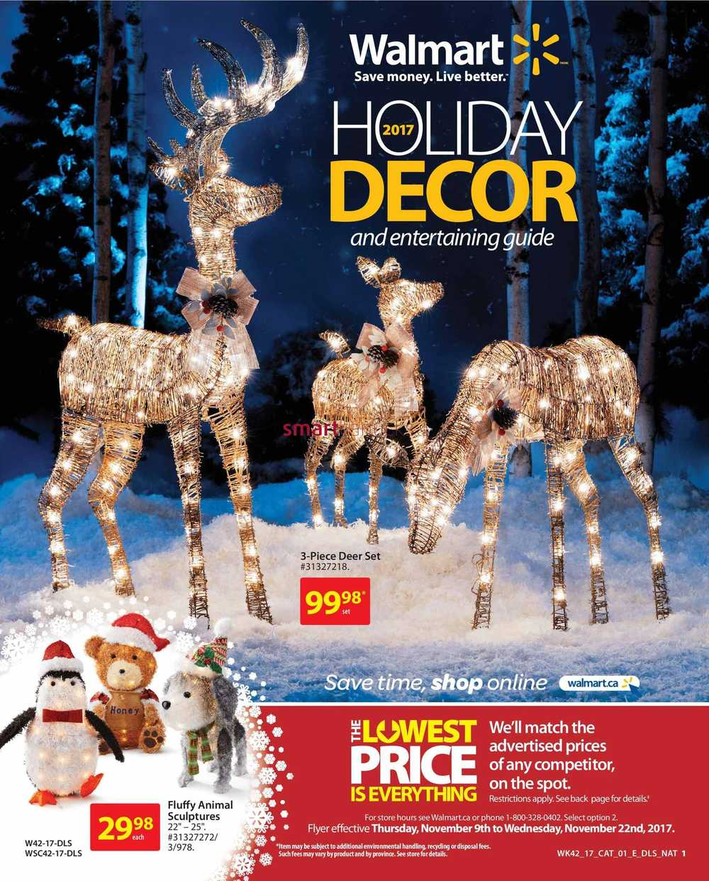 Our Guide To Holiday Home Decor: Walmart Canada Flyers