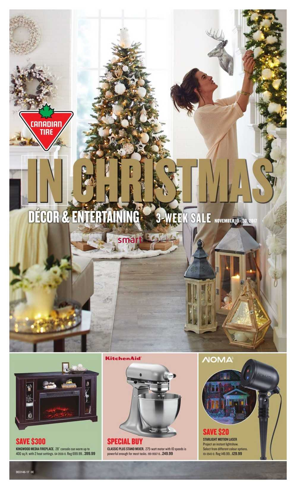 canadian tire christmas decor and entertaining flyer november 10 to 30