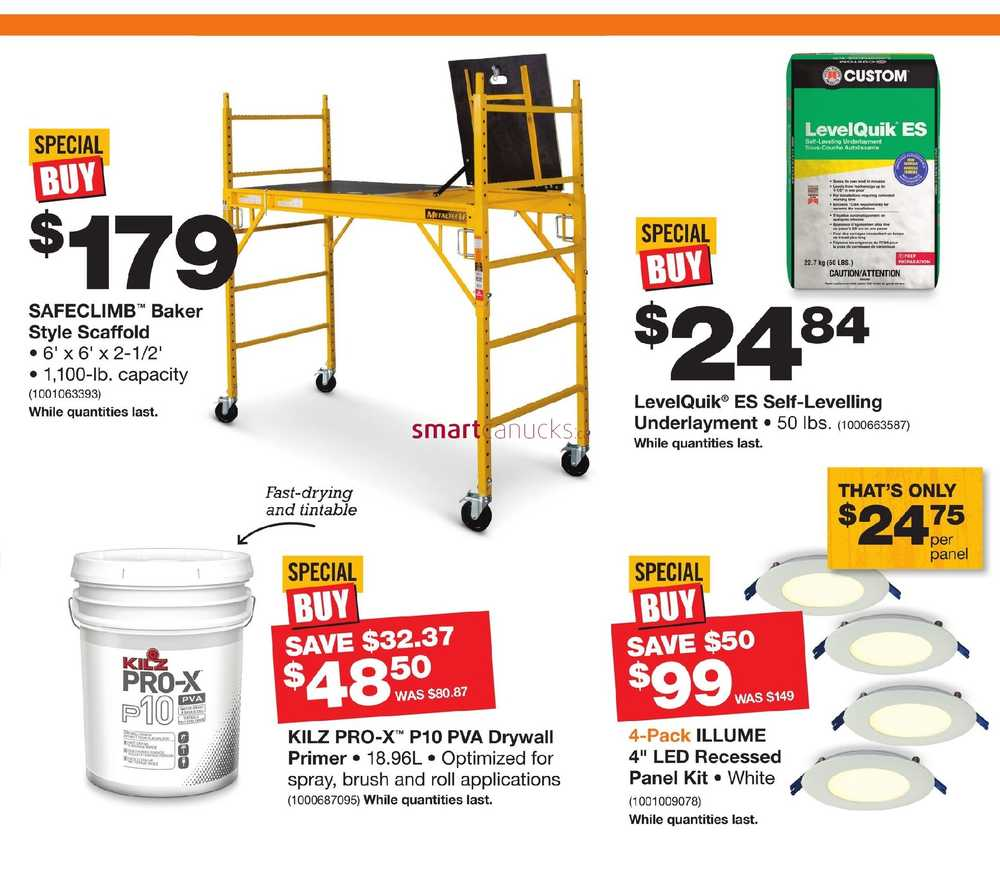 Home Depot Pro Savings Flyer November 15 To 22 Wiring Simplified View