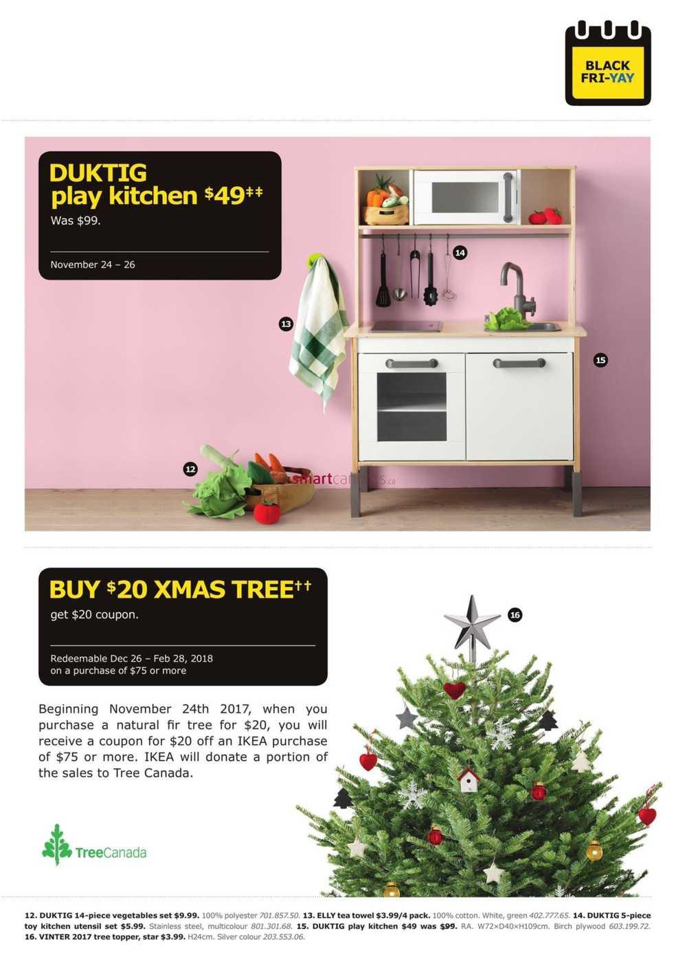 ikea black friday flyer nov 24 26. Black Bedroom Furniture Sets. Home Design Ideas