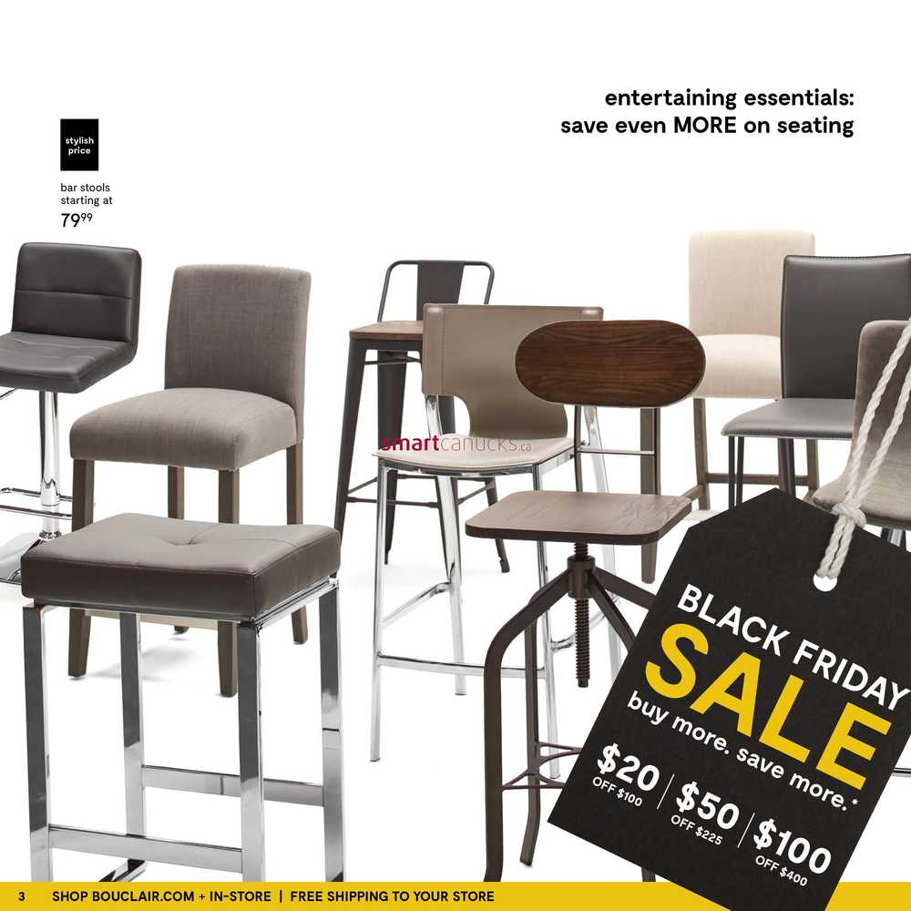 Astounding Bouclair Black Friday Sale Flyer November 24 To 27 Gmtry Best Dining Table And Chair Ideas Images Gmtryco