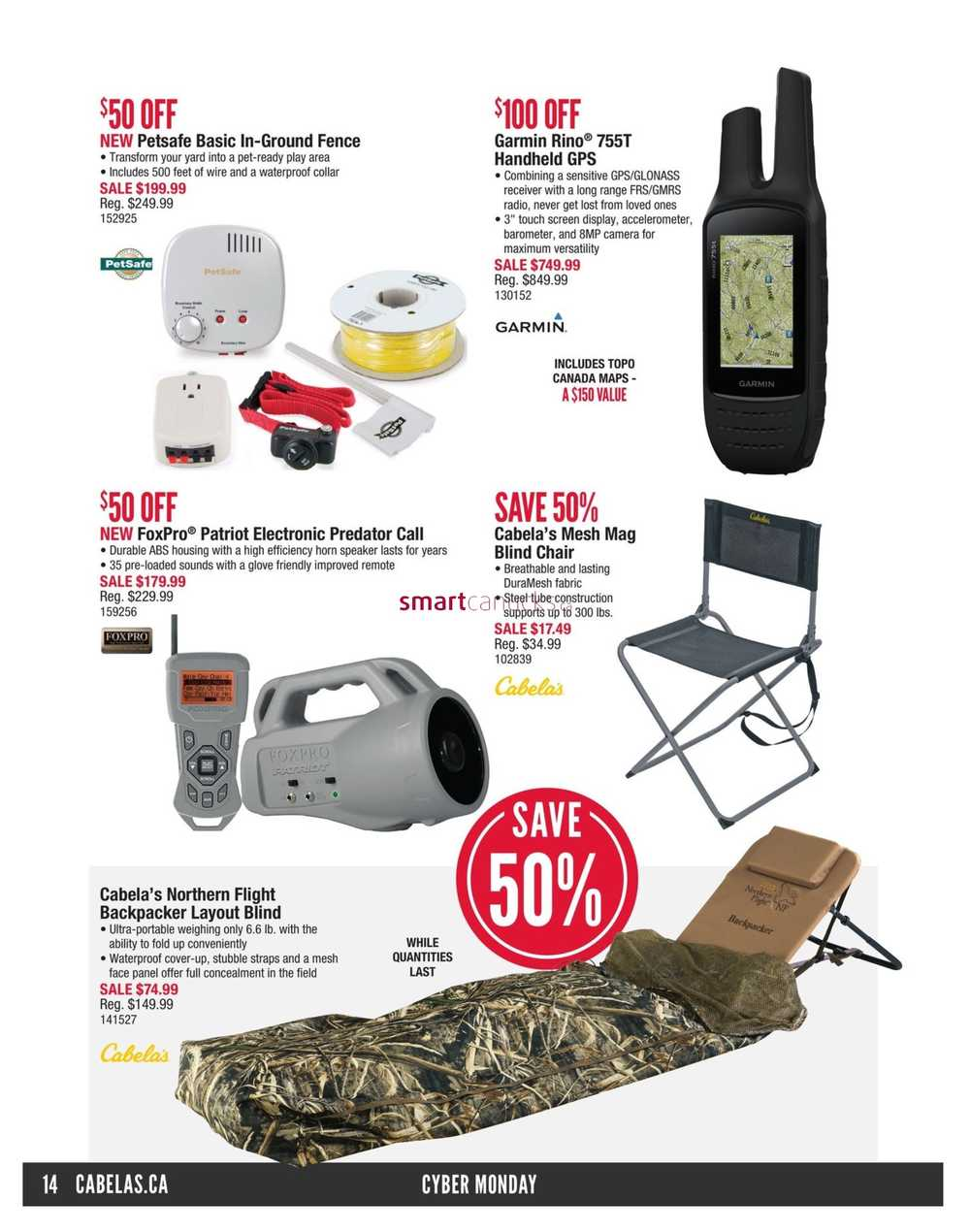 Cabela s Cyber Monday Flyer November 26 to 30