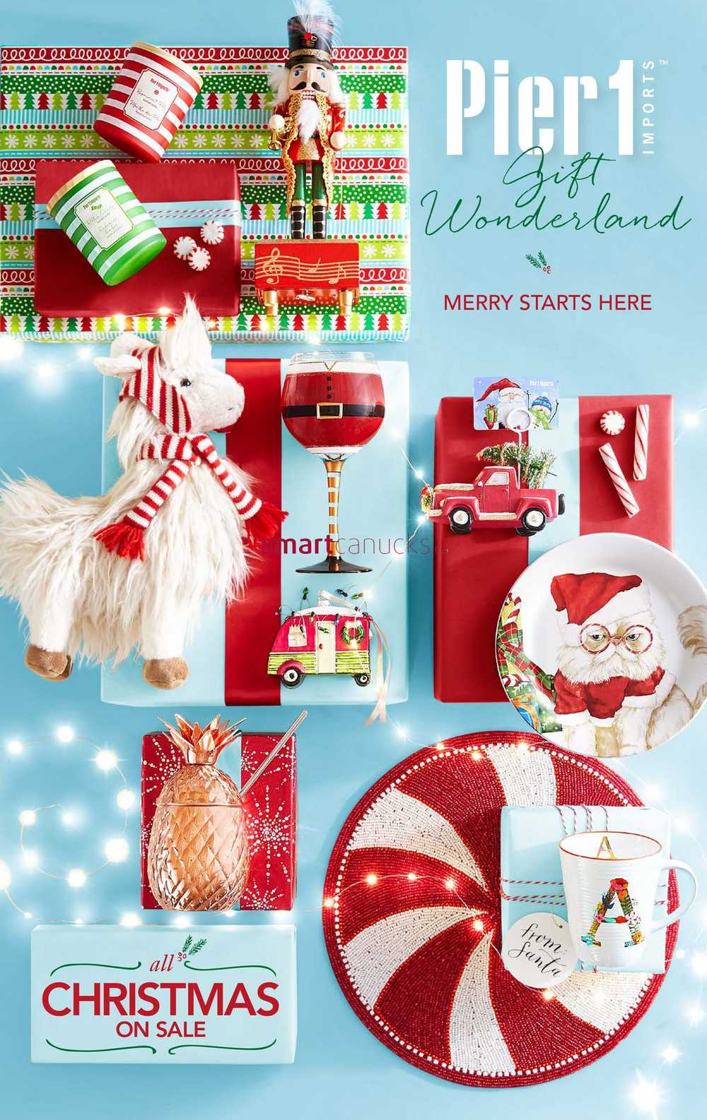 Pier 1 Imports Flyer November 28 to January 1. Pier 1 Imports Canada Flyers