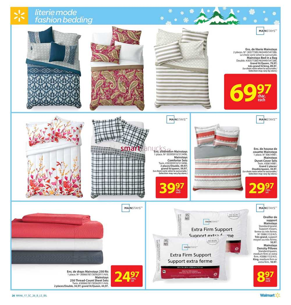 Walmart Supercentre Qc Flyer December 7 To 13