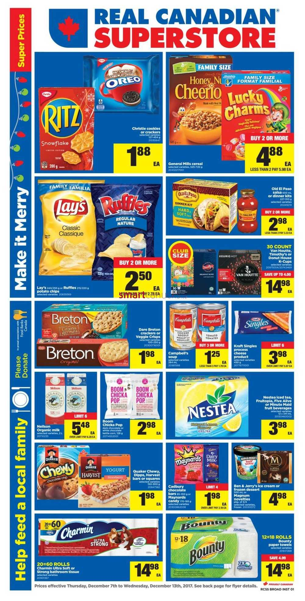 Real Canadian Superstore (ON) flyer Dec 7 - 13