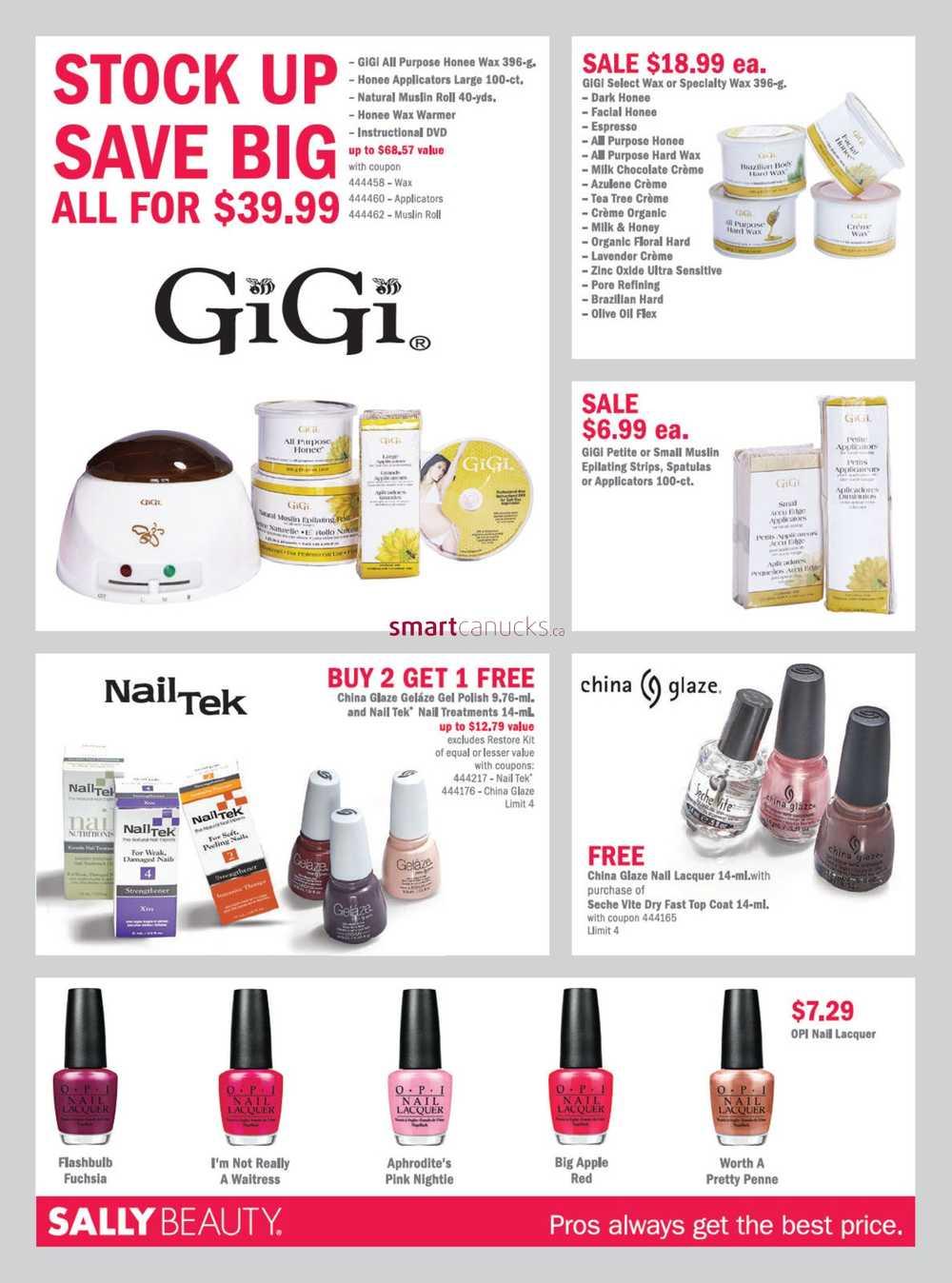 Sally Beauty Supply Pro Deals Flyer January 1 to 31