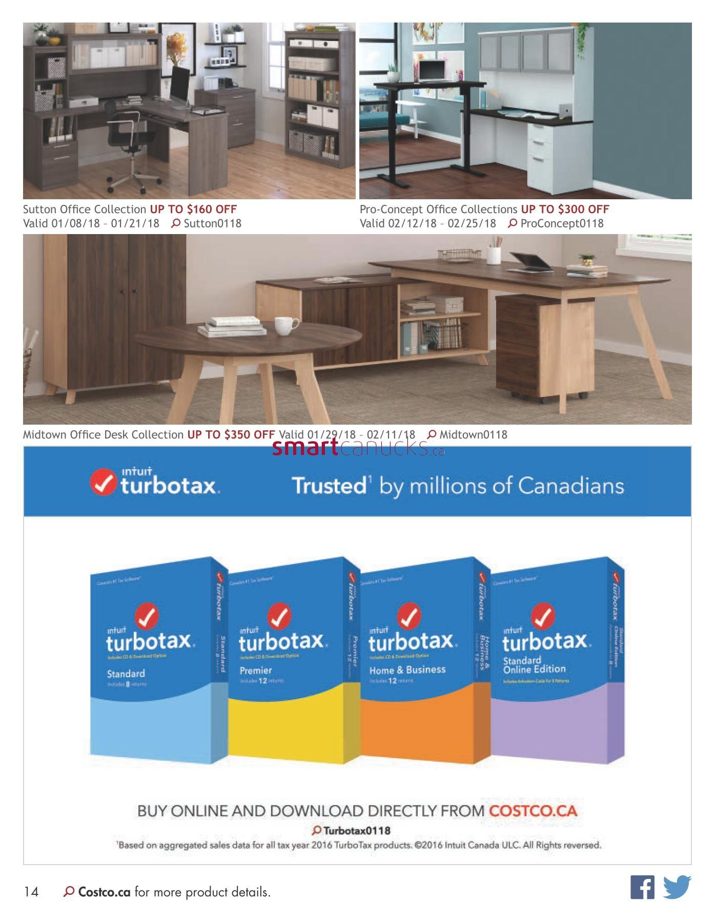 Costco Online Catalogue January 1 to February 28