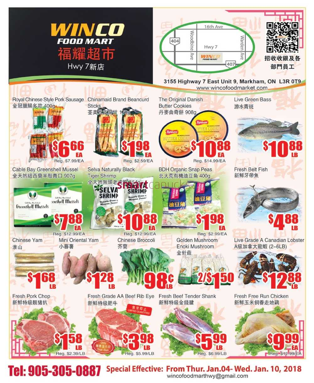 Winco Foods Ads Ca