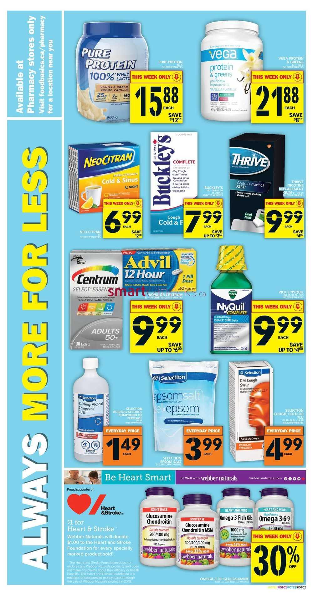 Food Basics flyer Jan 11 - 17