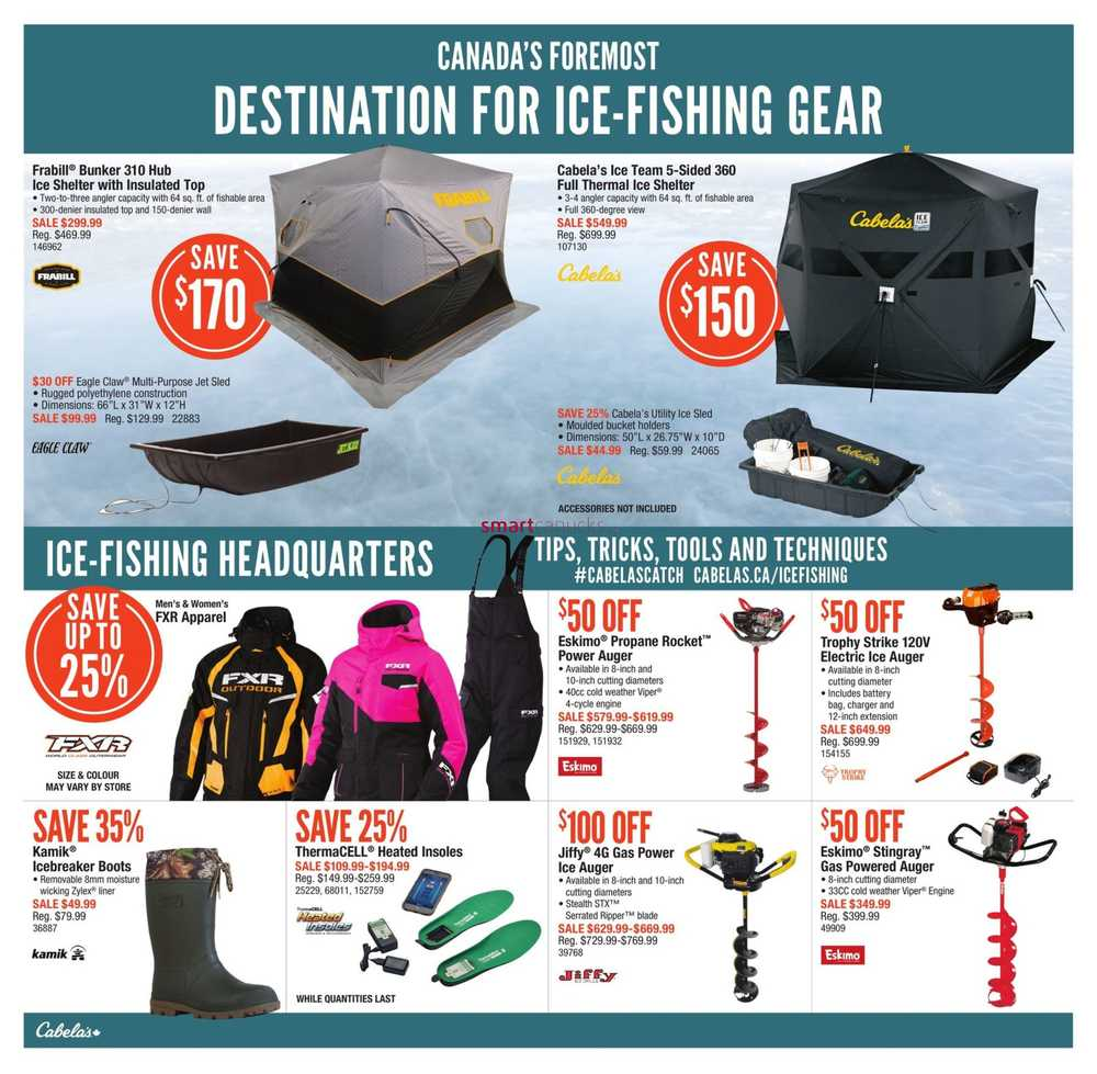 Cabela's Flyer January 11 to 21