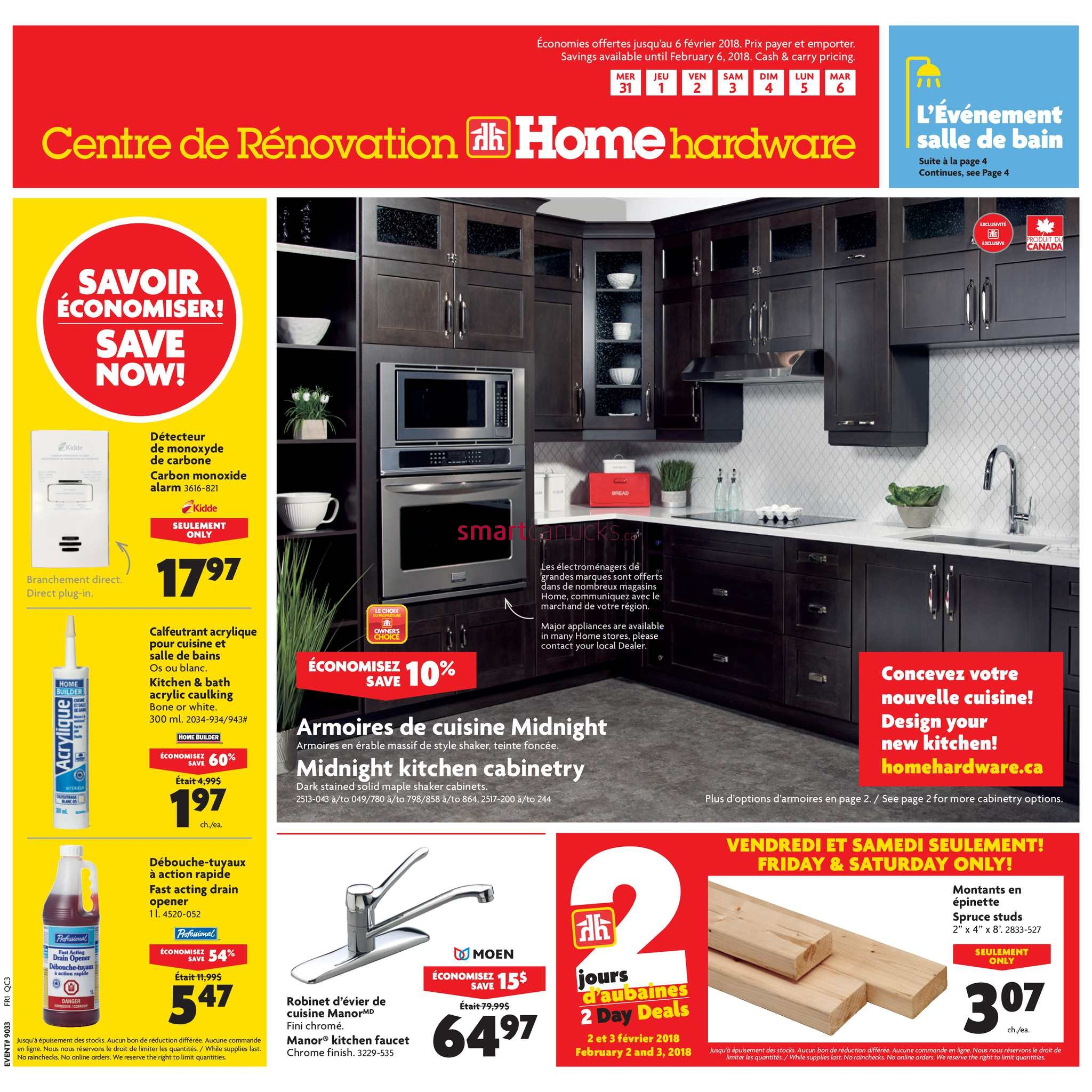 Home Hardware Building Centre Qc Flyer January 31 To February 6