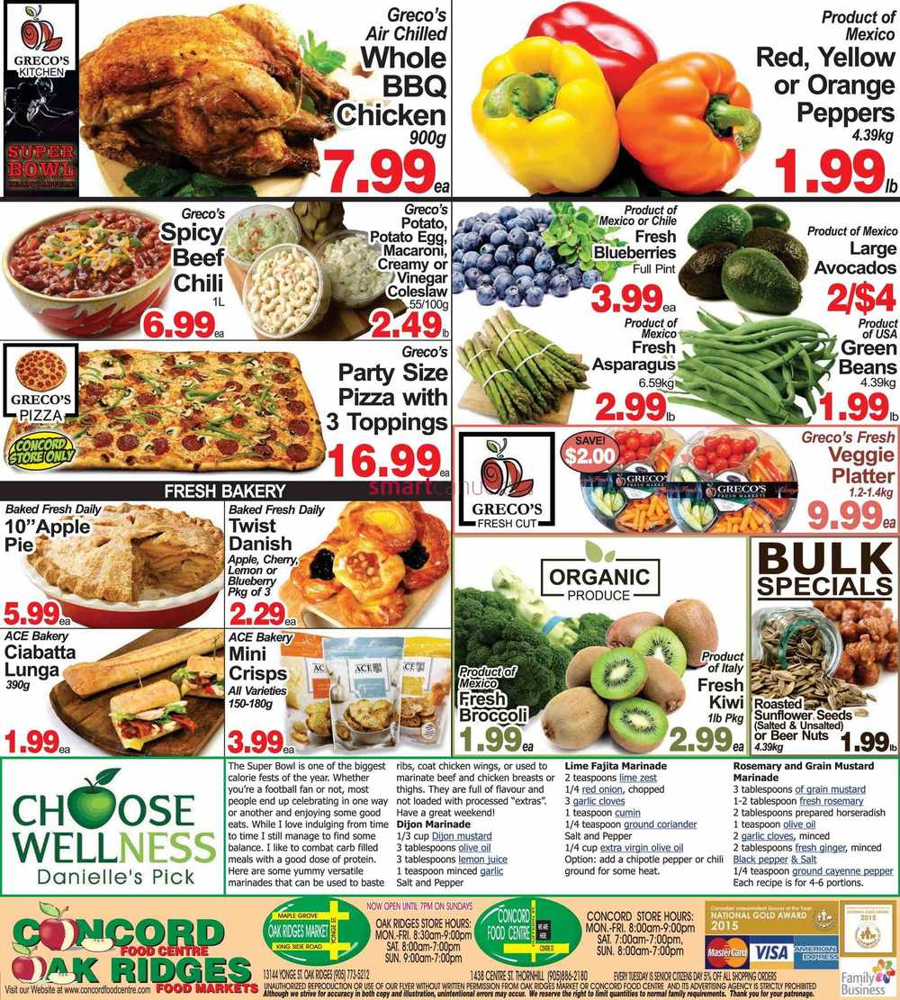 Concord Food Market Oak Ridges