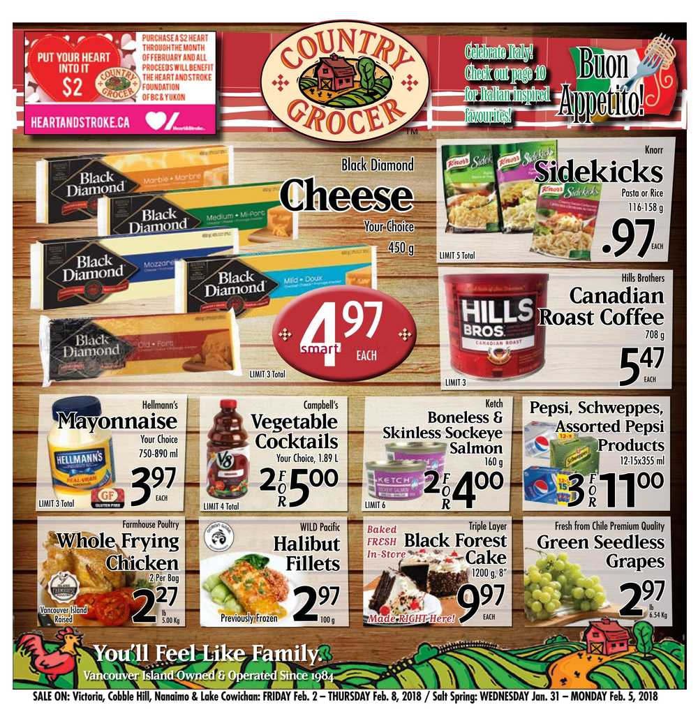 Country Grocer Canada Flyers