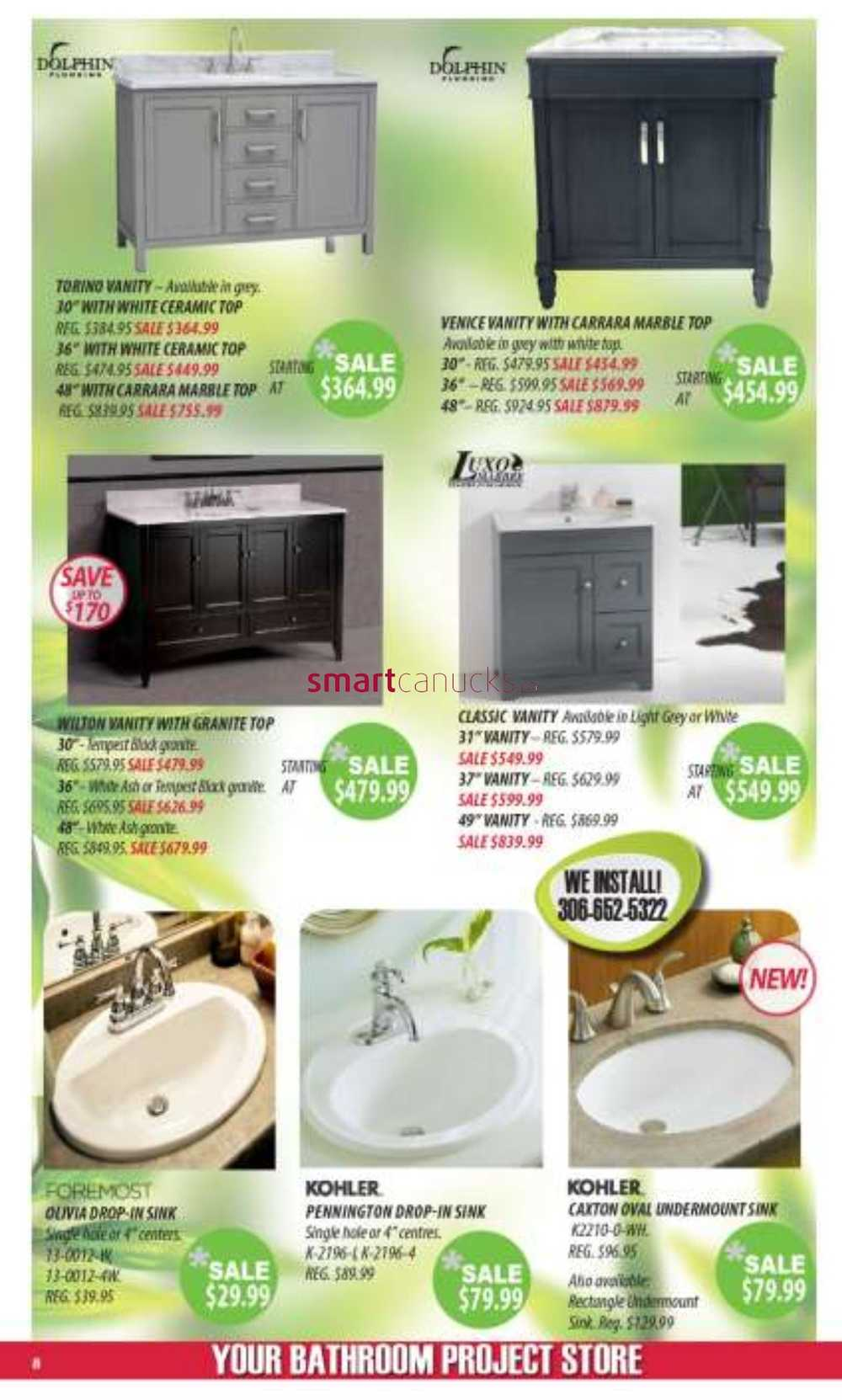 J&H Builder\'s Warehouse Flyer February 21 to March 6