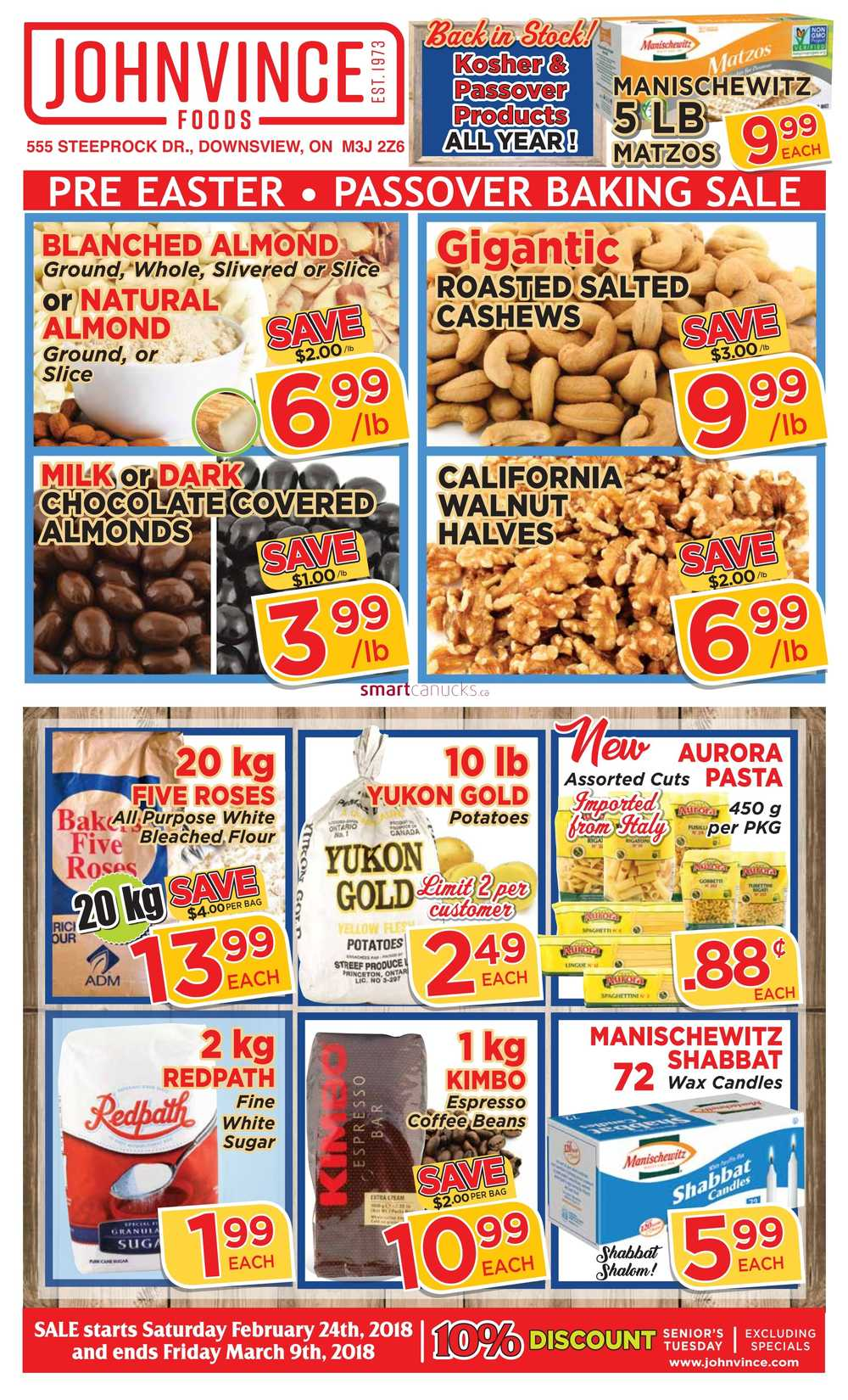 Johnvince Foods Canada Flyers on