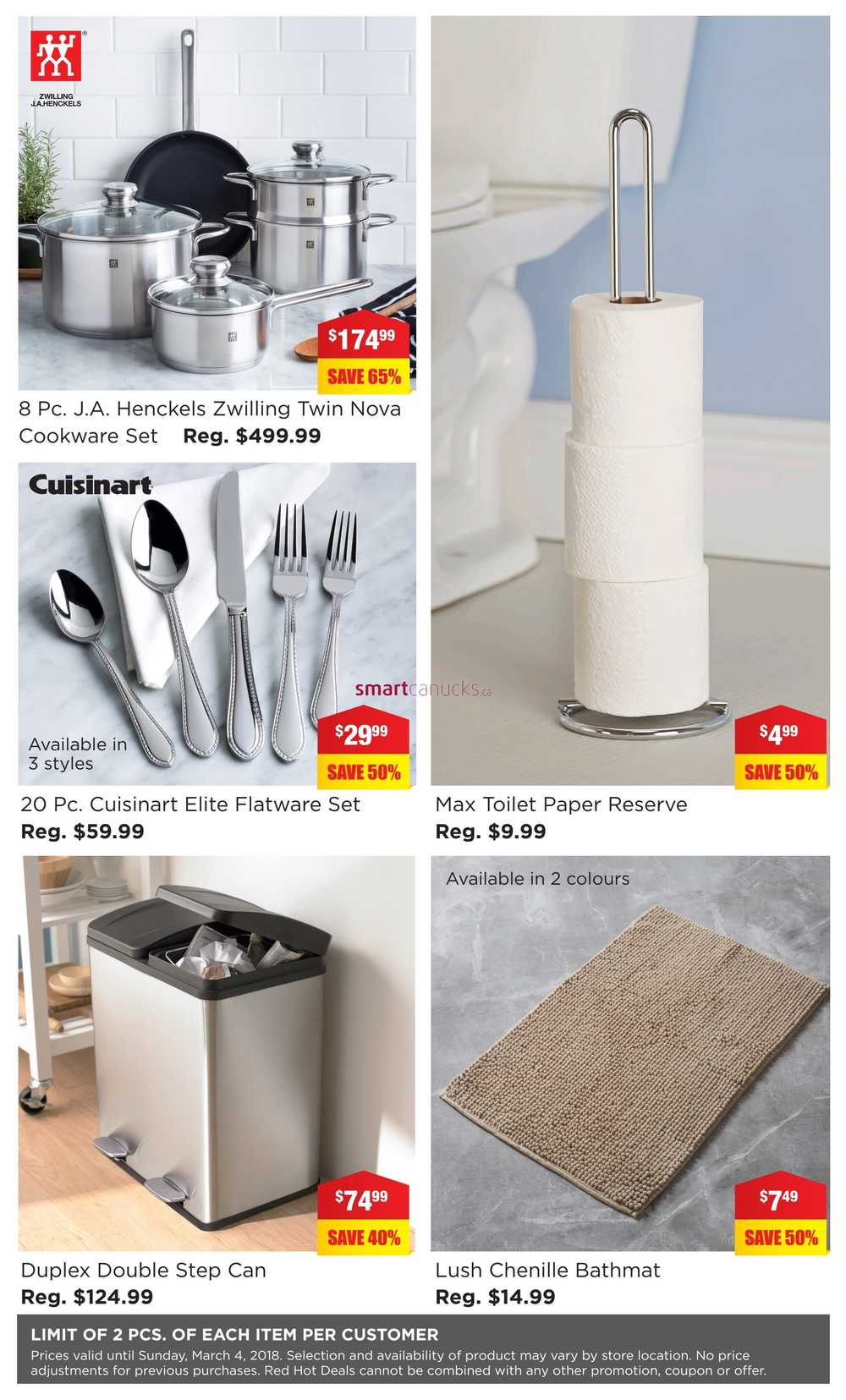 Kitchen Stuff Plus Red Hot Deals Flyer February 26 to March 4
