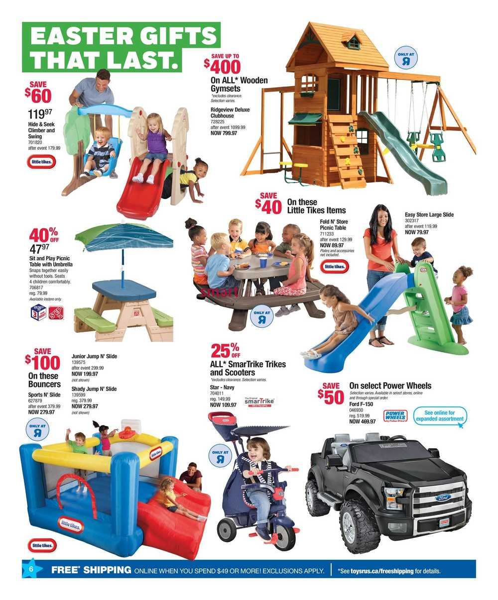 Toys r us flyer march 9 to 15 view single simplified view more toys r us flyers negle Choice Image