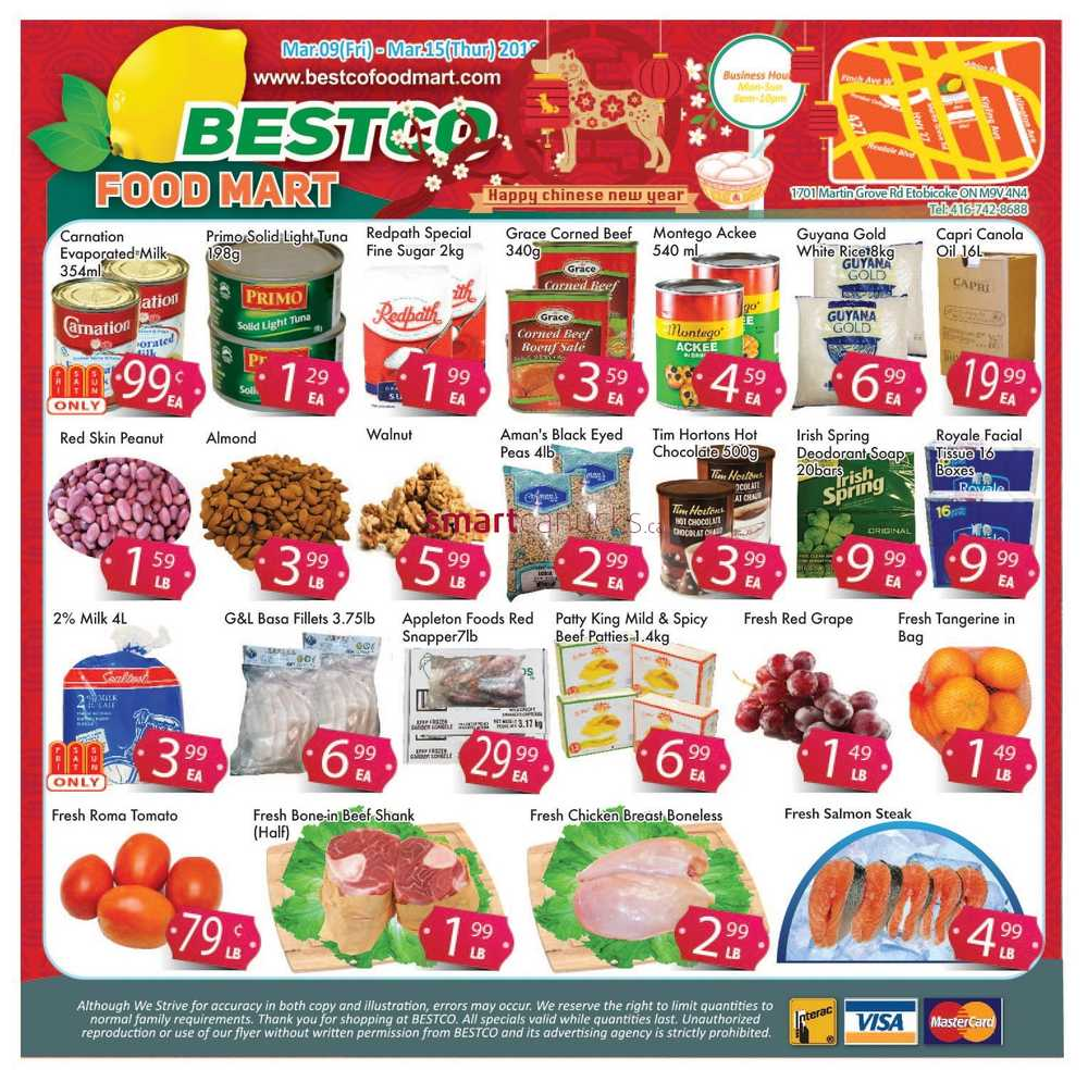 Bestco Food Mart Canada Flyer